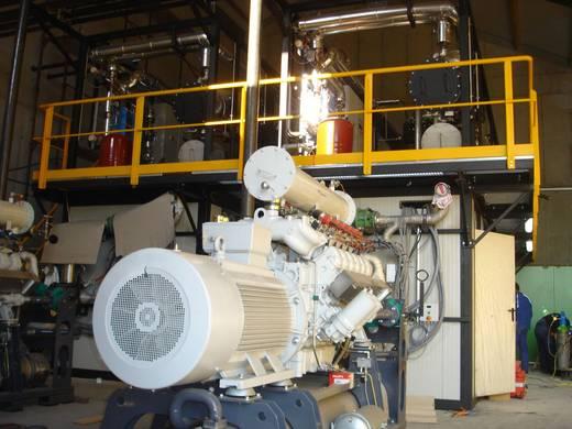 Holzkraftwerk Maschine mit Geländer