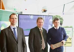 v.li.: Peter Liptay, Franz Titschenmacher und Christoph Pfemeter