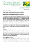 Download Pressemitteilung - Rakos neuer Präsident des Weltbiomasseverbandes